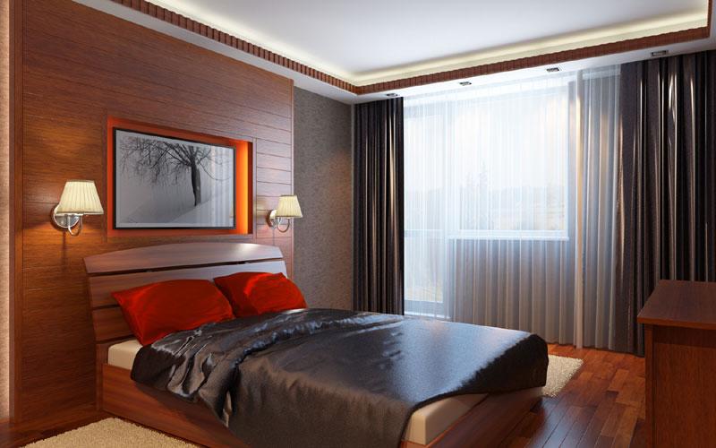 Дизайн проекты спальной комнаты