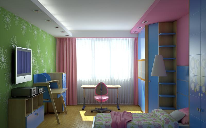 Стили интерьера детской комнаты 7