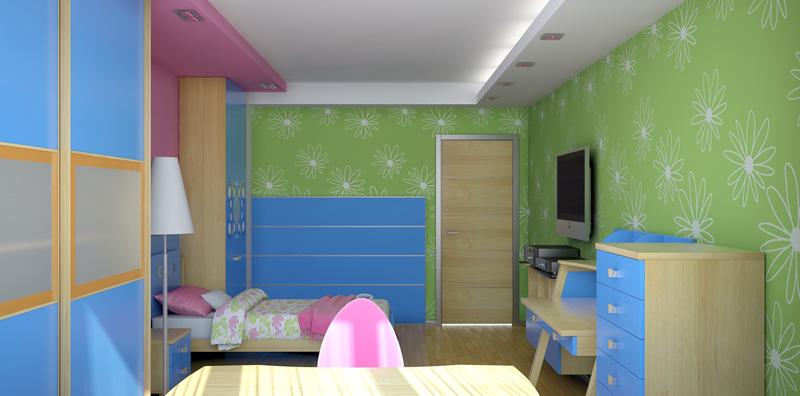 Стили интерьера детской комнаты 4