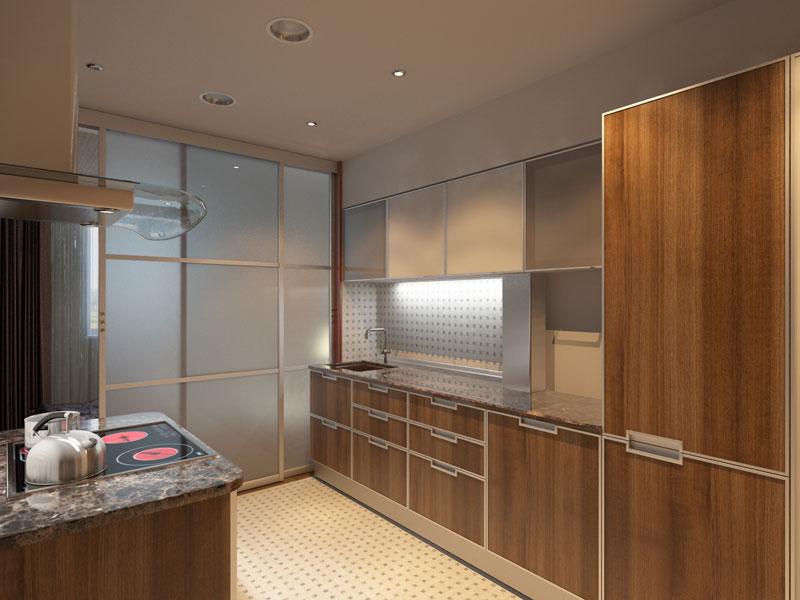 Дизайн проект кухни аф студия