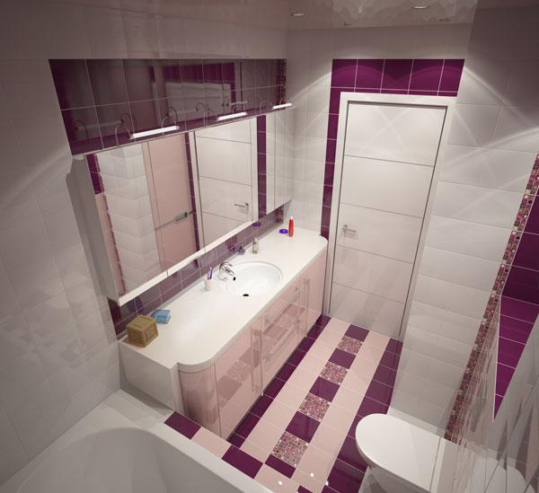 Бесплатные дизайн проекты ванных комнат