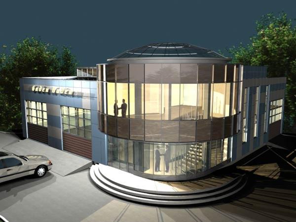 Проект и дизайн автомоечного комплекса 730