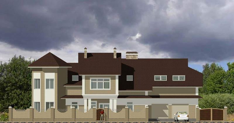 Хорошие проекты загородных домов и коттеджей в стиле Хай