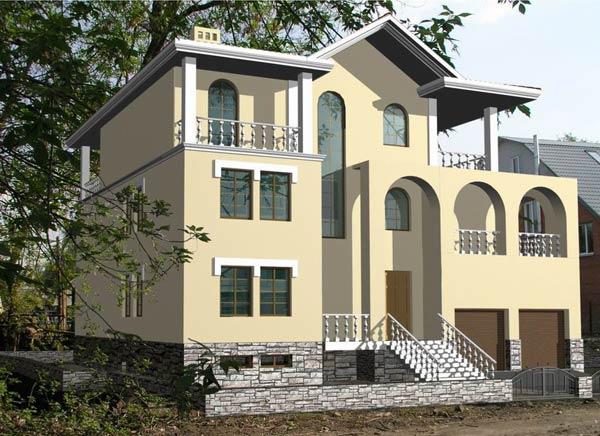 Строительство домов и коттеджей из кирпича в Перми под