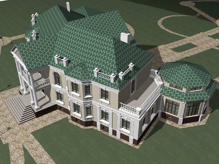 Дома из оцилиндрованного бревна - Строительство под ключ