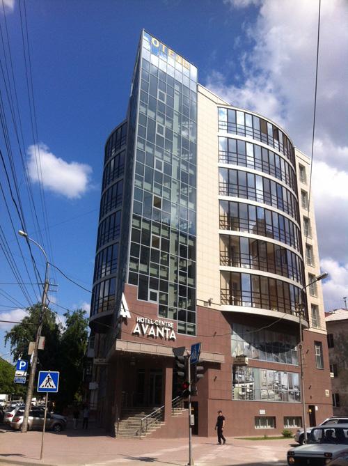 Гостинично-ресторанный комплекс «Аванта». Новосибирск. Проектная организация: «АкадемСтрой»