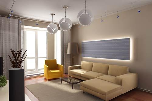 интерьер 3 комнатной квартиры фото