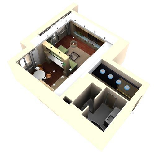 Архитектура интерьера