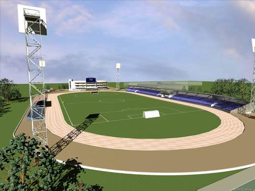 В Новосинеглазово будет реконструирован стадион