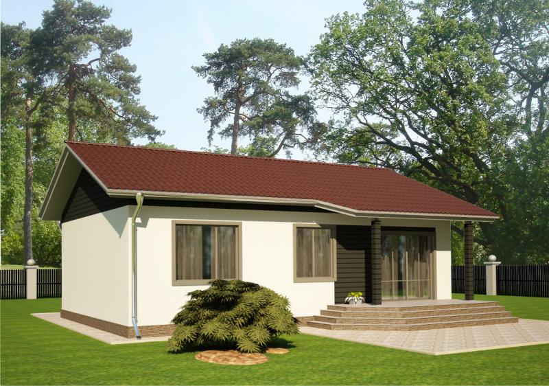 82 м². Проект жилого дома