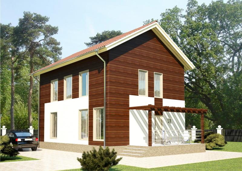 130 м². Проект жилого дома