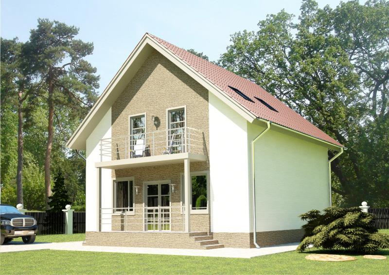 139 м². Проект жилого дома