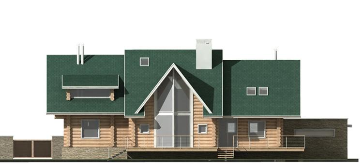 Проект индивидуального жилого дома из