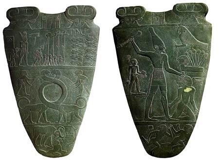 Палетка фараона Нармера