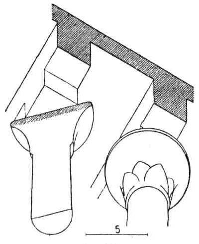Архитектурные формы Древнего Египта. Лотосообразные гаторические колонны. Виды капители. Карнакский храм