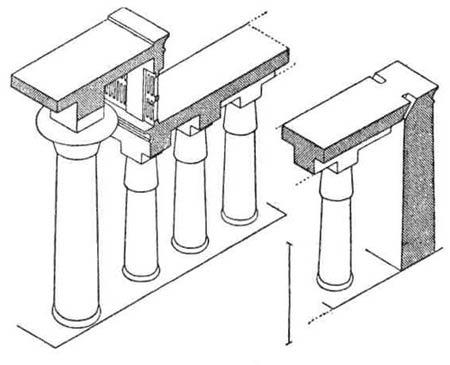 Храмы Древнего Египта. Гипостильный зал Карнакского храма