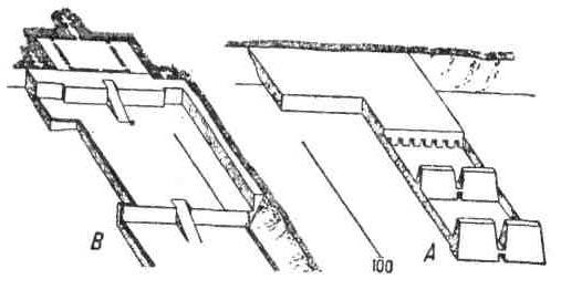 Храмы Древнего Египта. Храм Сети I в Абидосе. План Дейр-эль-Бахри