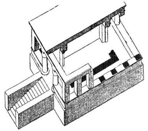 Храмы Древнего Египта. План Элефантинского храма