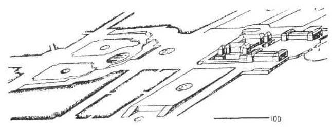 Французские дворцы и особняки XVII - XVIII вв. план версальского ансамбля так, как он выглядел около 1670 г.