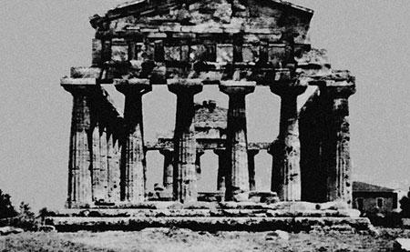 Храм Деметры в Пестуме