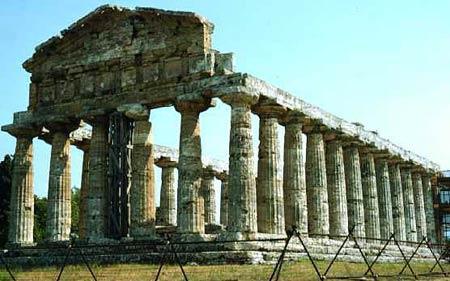 Храм Цереры в Посейдонии (Пестуме)