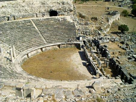 Театр в милете – самый большой театр