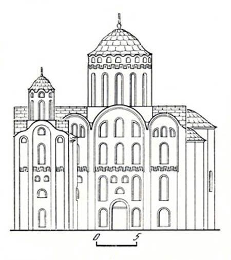 Киев. Церковь архангела