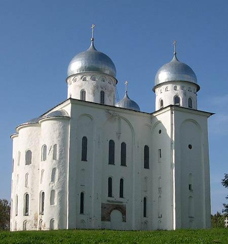 георгиевский собор юрьева монастыря схема