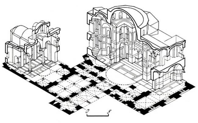 аксонометрия в архитектуре - Микросхемы.