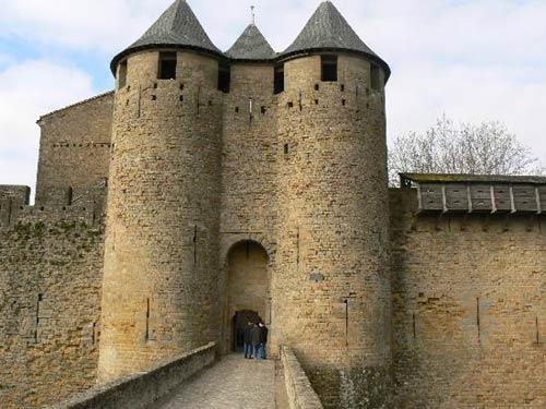 Замок Каркассон (Chateau de Carcassonne)