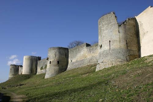Замок Куси. Chateau de Coucy