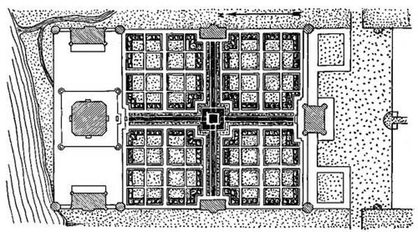 Комплекс мавзолея Тадж-Махал