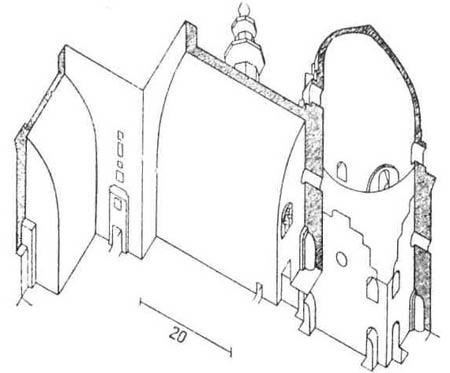 Архитектурные памятники мусульманской архитектуры. Самая древняя сводчатая мечеть — мечеть Хассана в Каире (1360)
