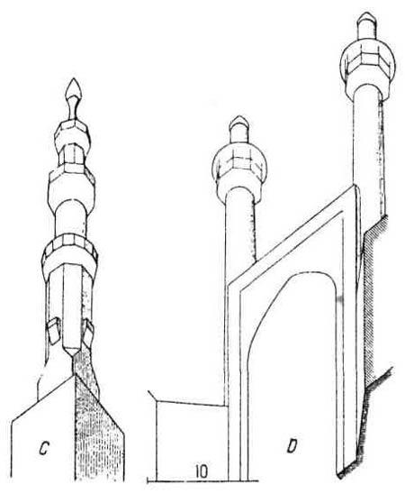 Архитектурные памятники мусульманской архитектуры. Египетский минарет