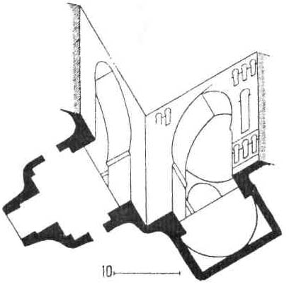Архитектурные памятники мусульманской архитектуры. План дворца Аммана в трансиорданской Сирии