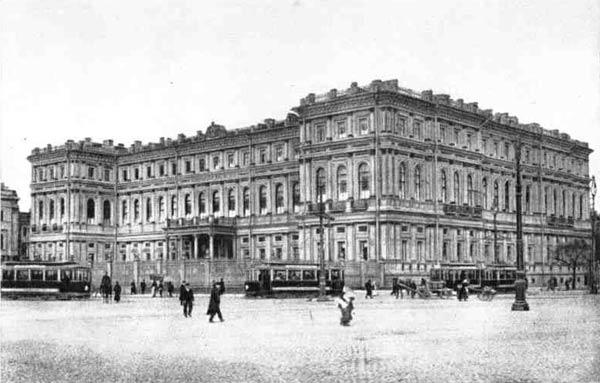 А. И.  Штакеншнейдер. Николаевский дворец в Петербурге (1853—1861  гг.). Фотография начала XX в.