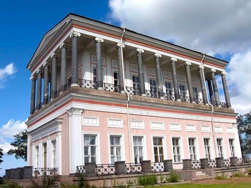 А. И. Штакеншнейдер. Павильон «Бельведер» в Петергофе (1853—1856  гг.). Фотография начала XX в.
