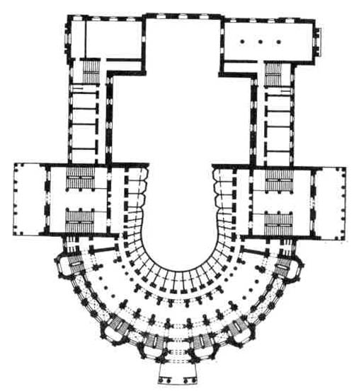 Театр в Одессе. План
