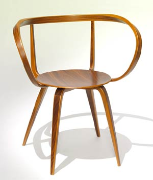 Vitra. Джордж Нельсон (George Nelson), Pretzel Chair, 1952