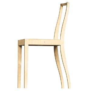 Vitra. Джаспер Моррисон (Jasper Morrison). Ply-Chair, 1989