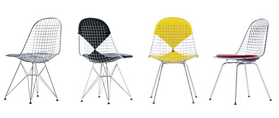 Vitra. Чарльз Эймс (Charles Ormand Eames) и Рэй Эймс (Ray Eames). Were Chair DKR & DKX, 1951