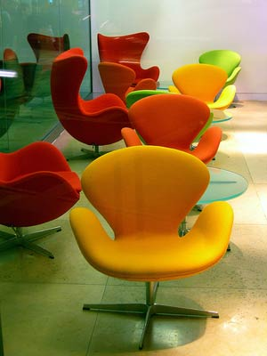 Арне Якобсен. Arne Jacobsen. Swan Chair, 1956