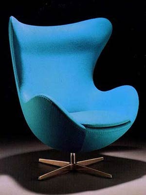 Арне Якобсен. Arne Jacobsen. Egg Chair, 1956