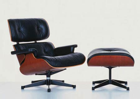 Чарльз и Рэй Эймс. Charles Ormand Eames & Ray Eames. Eames Lounge Chair