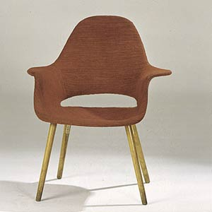 Чарльз и Рэй Эймс. Charles Ormand Eames & Ray Eames. Organic Chair Highback