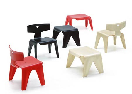 Чарльз и Рэй Эймс. Charles Ormand Eames & Ray Eames. Children`s Stool