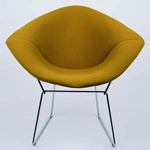 Гарри Бертойя. Bertoia Collection Lounge chair. 1952