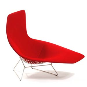 Гарри Бертойя. Harry Bertoia. Asymmetric Chaise. 1953/2005