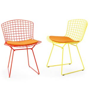 Гарри Бертойя. Bertoia Collection Side chair. 1952