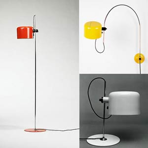 Джо Коломбо. Joe Colombo. lamp Oluce